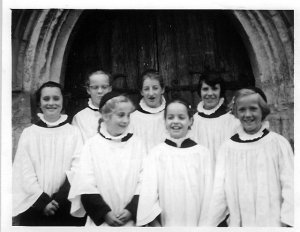 Borden CHurch Choir 1959
