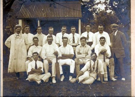 Borden Cricket Club 1919